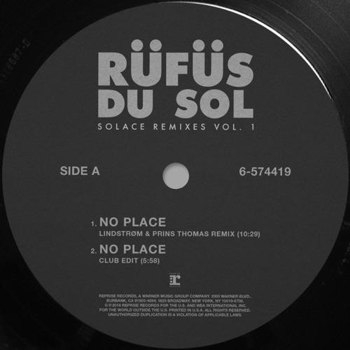 RÜFÜS DU SOL - SOLACE REMIXES VOL.1 - EP