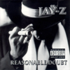 JAY-Z - Reasonable Doubt  artwork