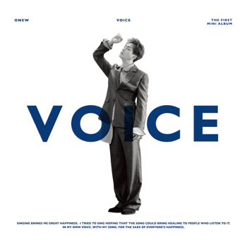 ONEW VOICE - The 1st Mini Album music review