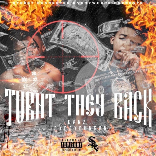 Ganz - Turnt They Back (feat. Jaydayoungan) - Single