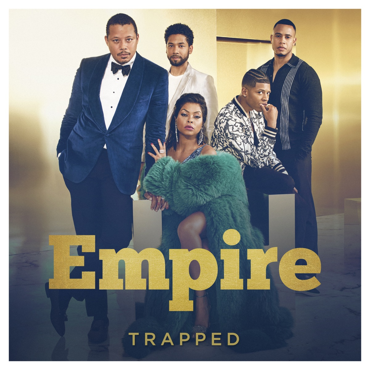 Trapped Album Cover by Empire Cast