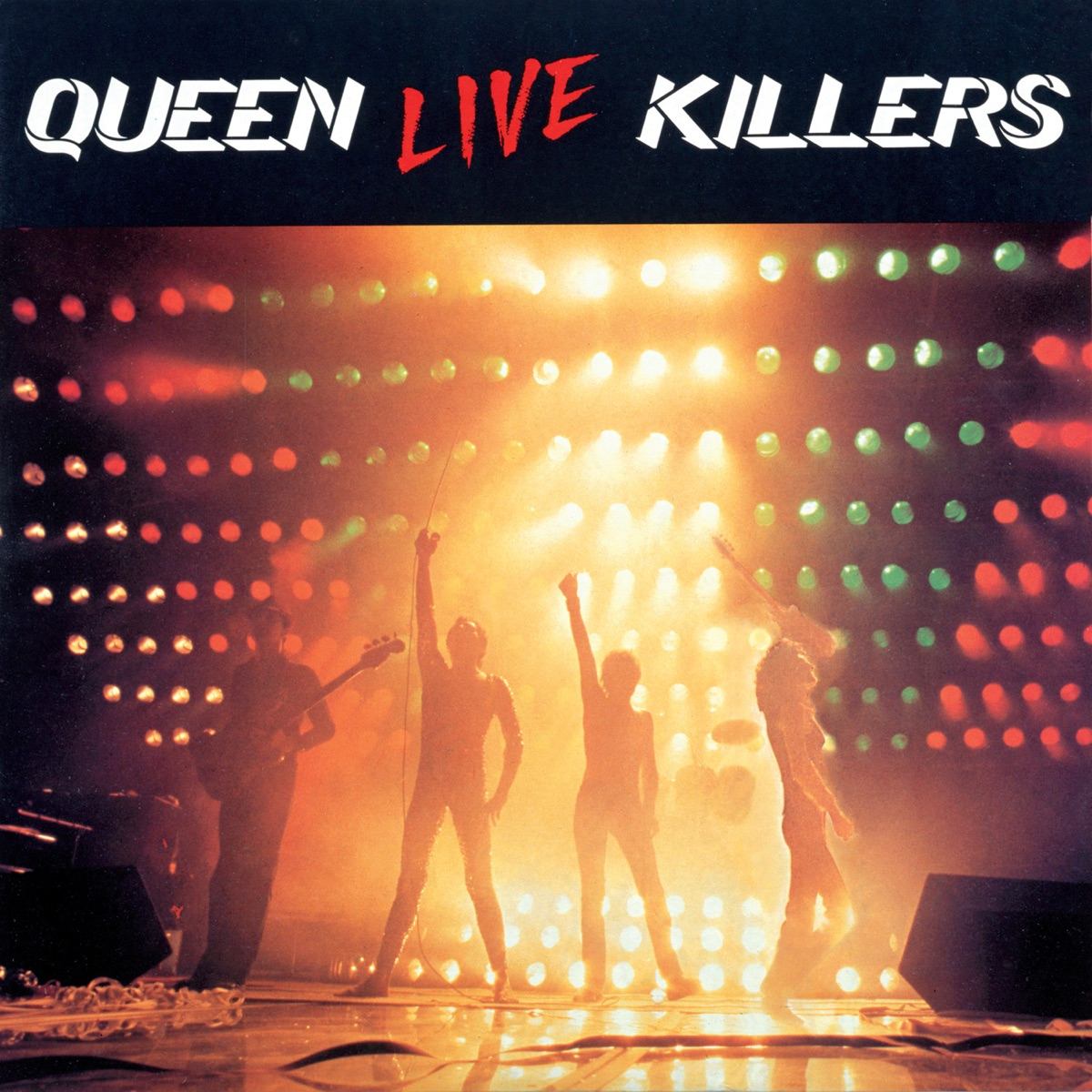Live Killers Queen CD cover