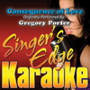 Singer's Edge Karaoke - Consequence of Love (Originally Performed By Gregory Porter) [Instrumental] artwork