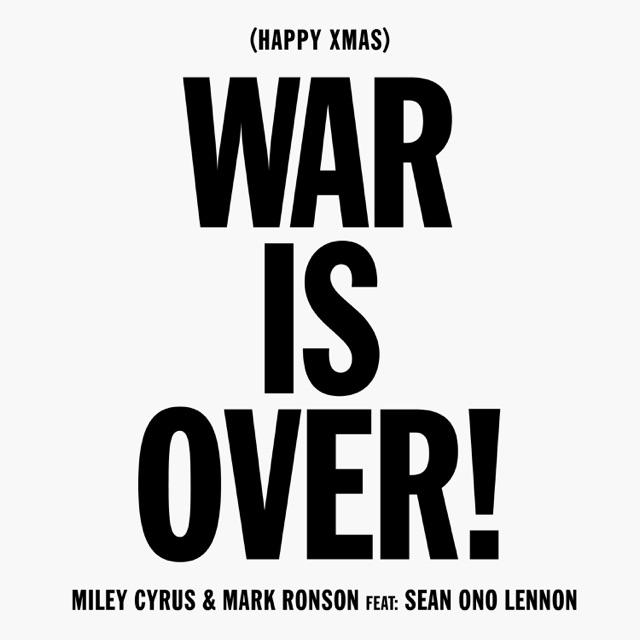 Miley Cyrus - Happy Xmas (War Is Over) [feat. Sean Ono Lennon]