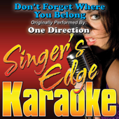 Don't Forget Where You Belong (Originally Performed By One Direction) [Instrumental]