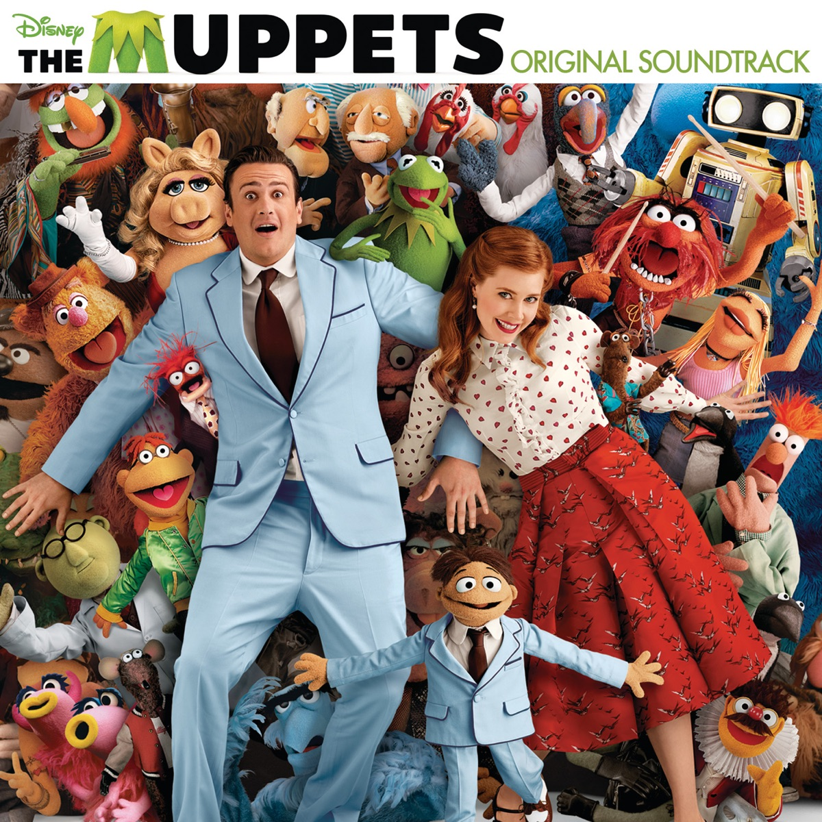 The Muppets Original Motion Picture Soundtrack Various Artists CD cover