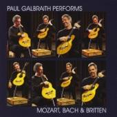Paul Galbraith - Cello Suite No. 4 in E-flat Major, BWV 1010