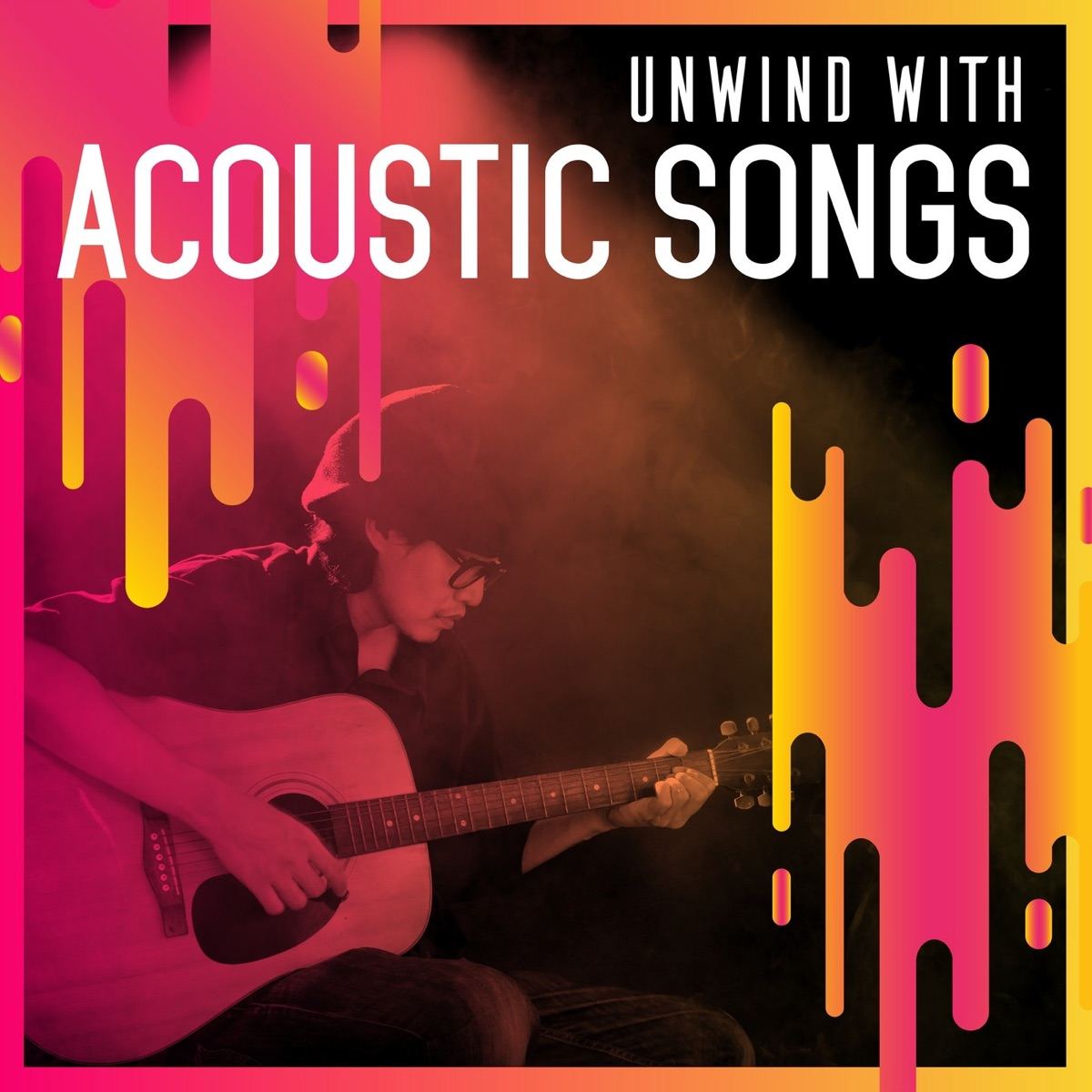 Unwind with Acoustic Songs Album Cover by Various Artists