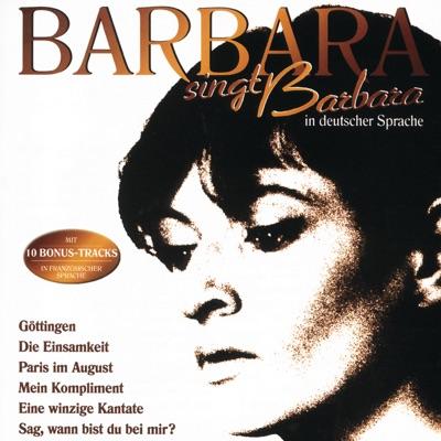 Barbara singt Barbara (in deutscher Sprache) - Barbara