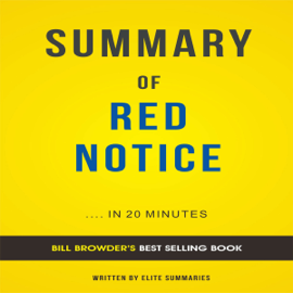 Summary of Red Notice, by Bill Browder: Includes Analysis (Unabridged) audiobook