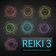 Reiki 3 - Reiki Music with Bell Every 3 Minutes, Therapy Music, Healing Songs - Meditation Relax Club & Reiki - Meditation Relax Club & Reiki
