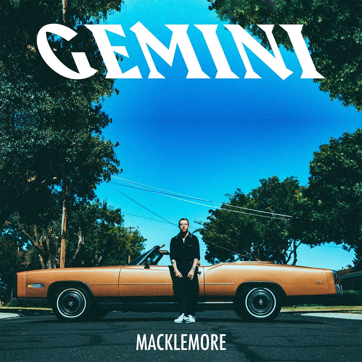 GEMINI Macklemore CD cover