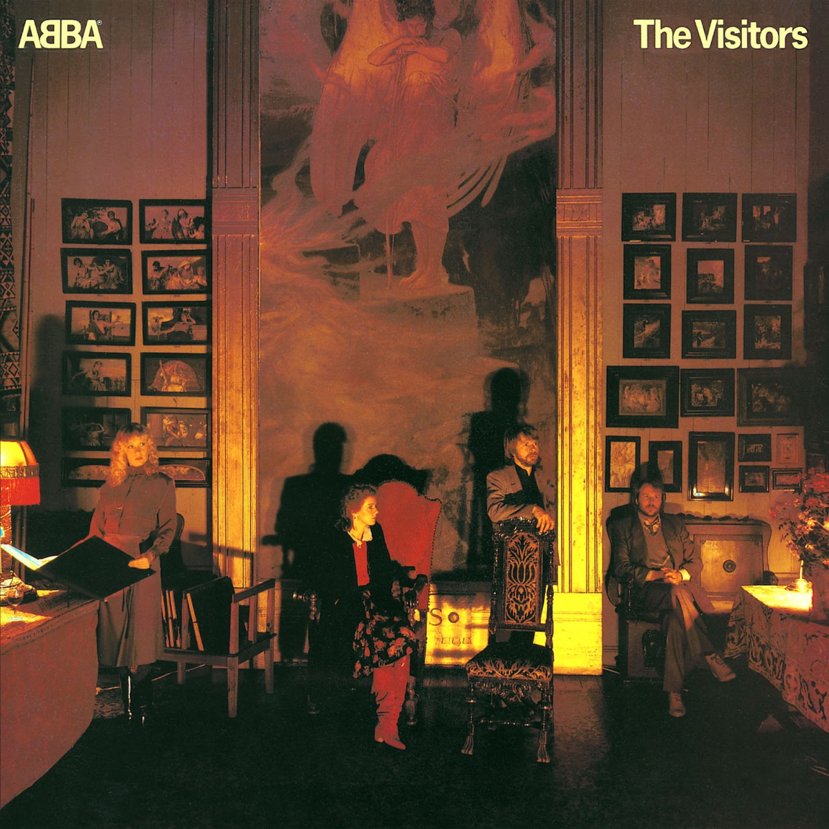 The Visitors ABBA CD cover