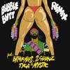 Major Lazer - Bubble Butt (Remix) [feat. Bruno Mars, 2 Chainz, Tyga & Mystic] artwork