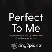 Perfect to Me (Originally Performed by Anne - Marie) [Piano Karaoke Version]