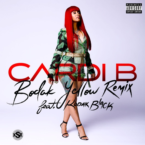Bodak Yellow (feat. Kodak Black) - Single