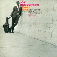 Joe Henderson - Page One artwork