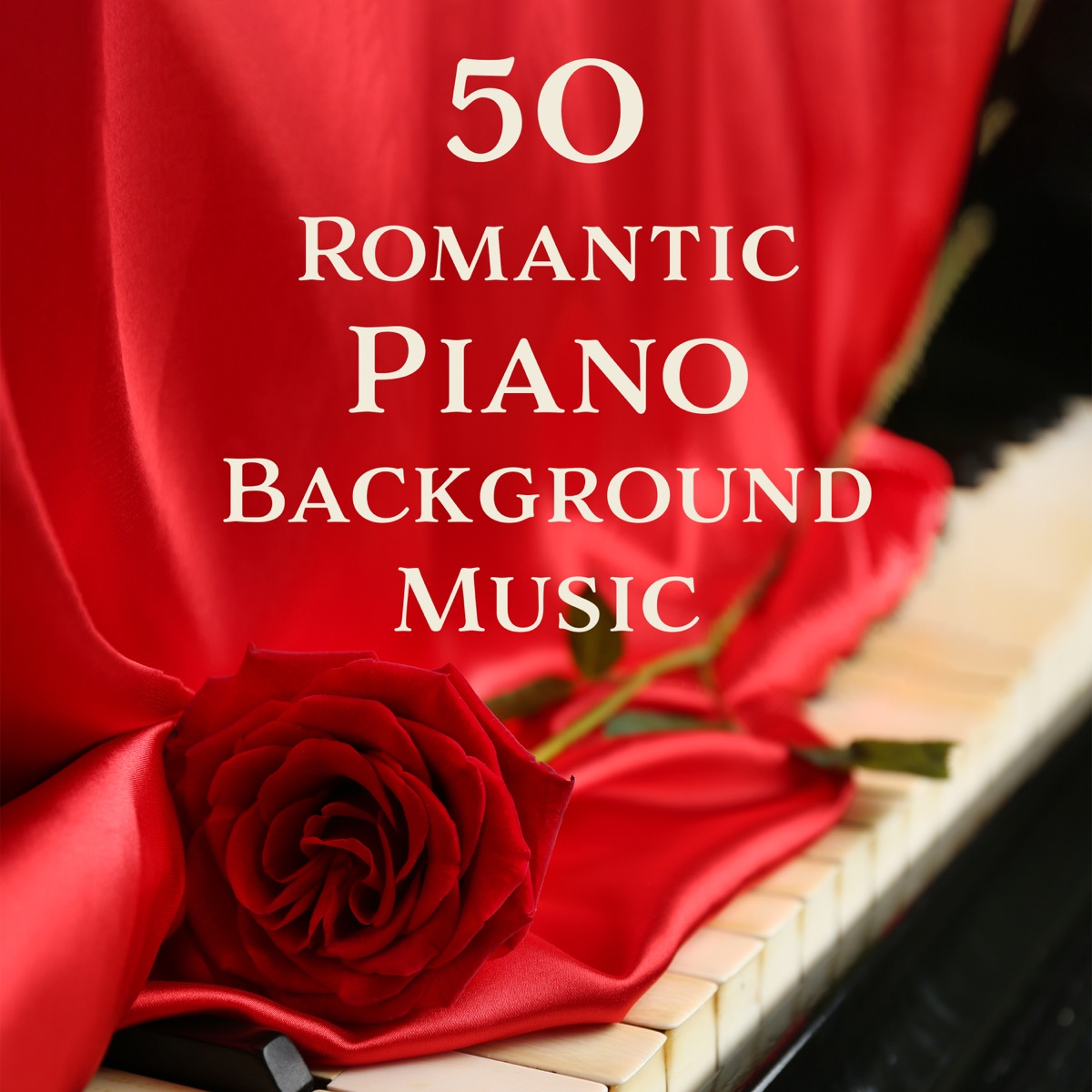 50 Romantic Piano Background Music: Moody Jazz for