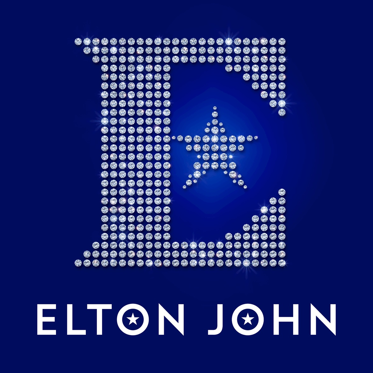 Diamonds Deluxe Elton John CD cover
