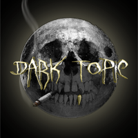 Podcast cover art for Dark Topic: A True Crime Podcast