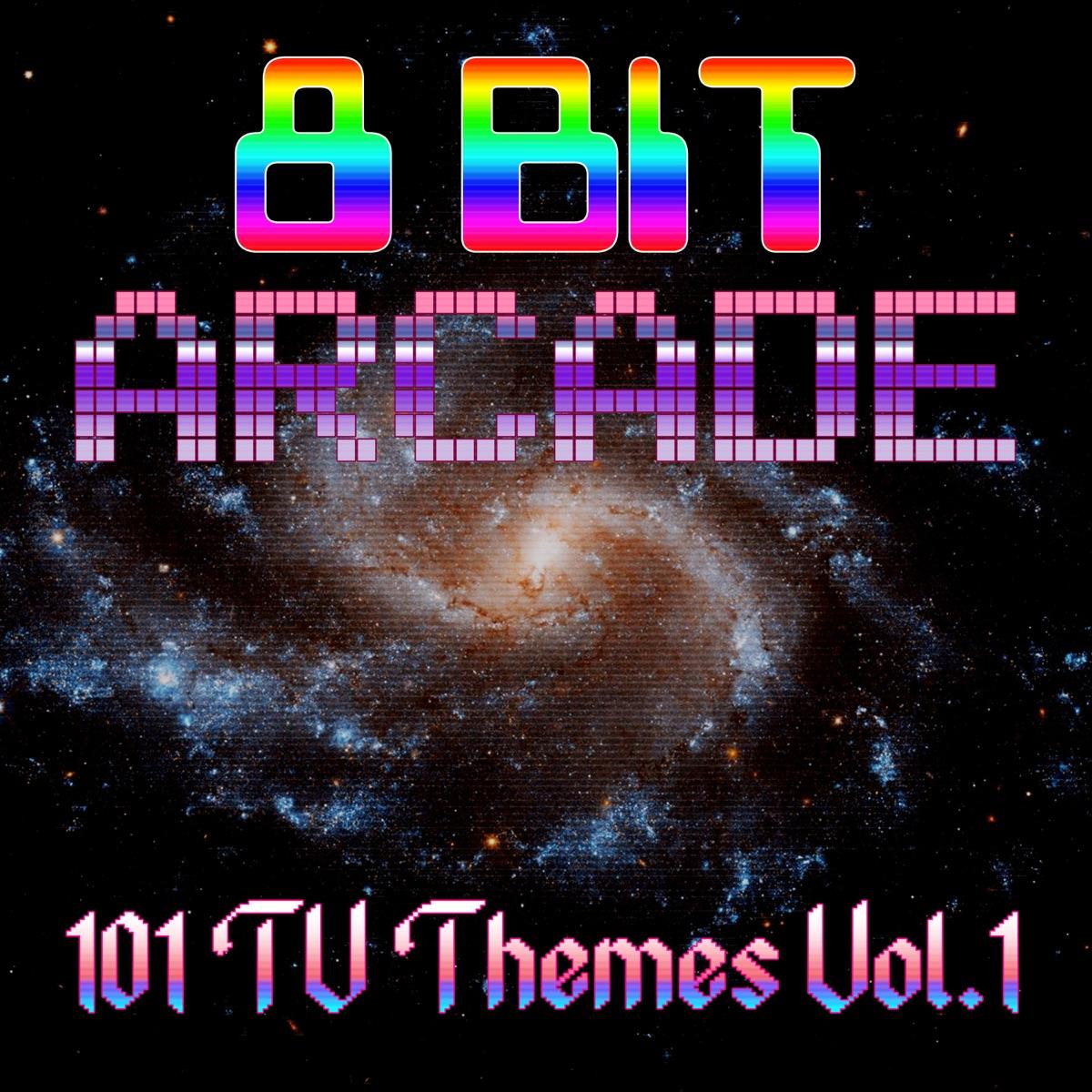 101 Television Themes Vol 1 8-Bit Arcade CD cover