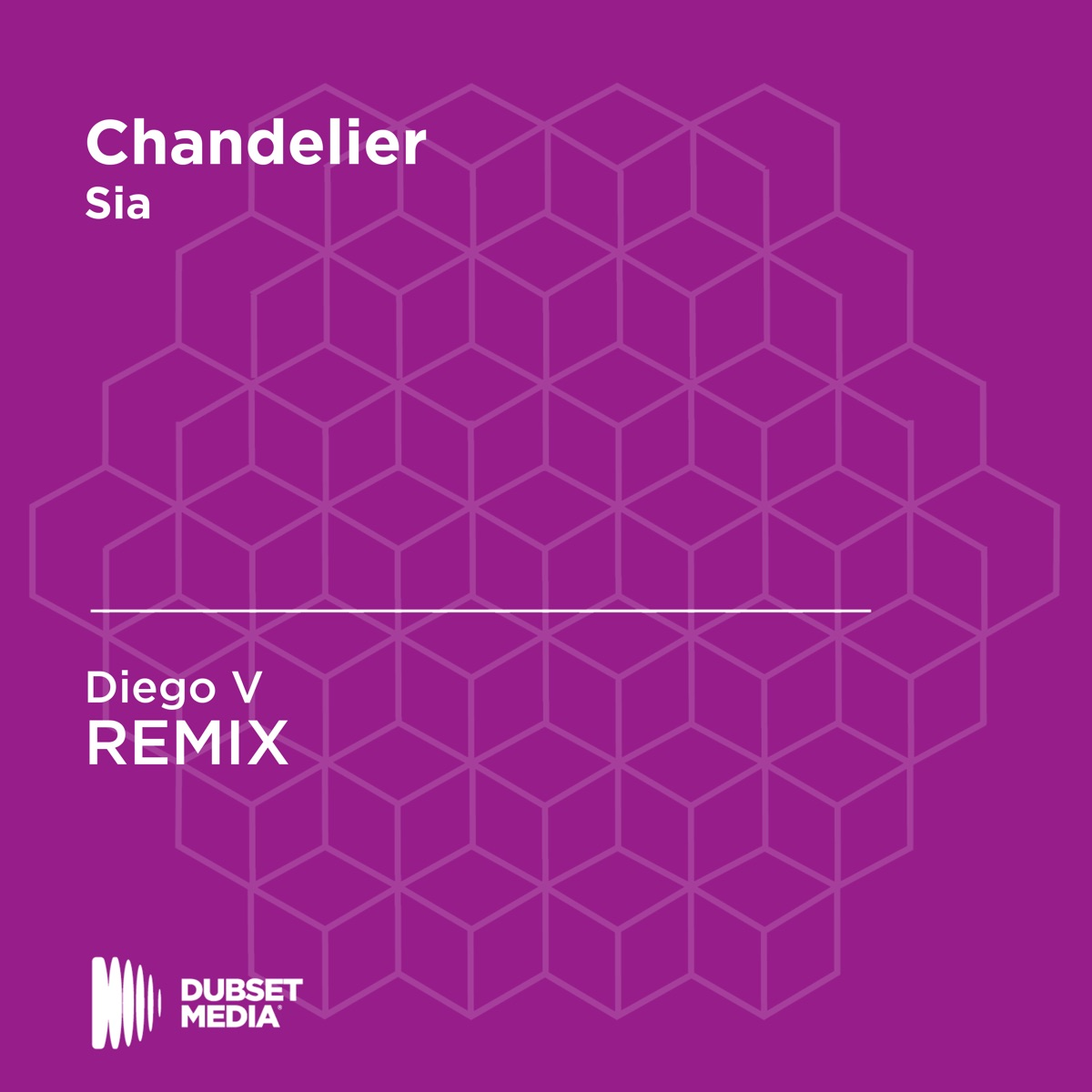 Chandelier Diego V Unofficial Remix Sia - Single Diego V CD cover