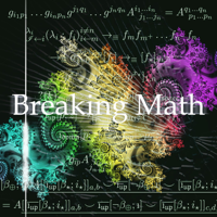 Podcast cover art for Breaking Math Podcast