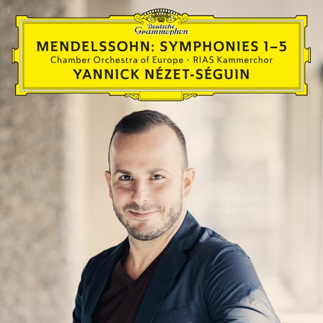 Mendelssohn symphonies nos 1 5 live by chamber for Chamber orchestra of europe