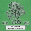 Fox Box: 3 Nights Live at Fox Theatre in Atlanta, GA (September 26, 2004), The Allman Brothers Band