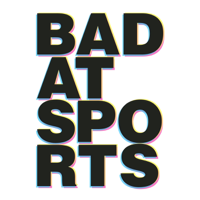 Podcast cover art for Bad at Sports