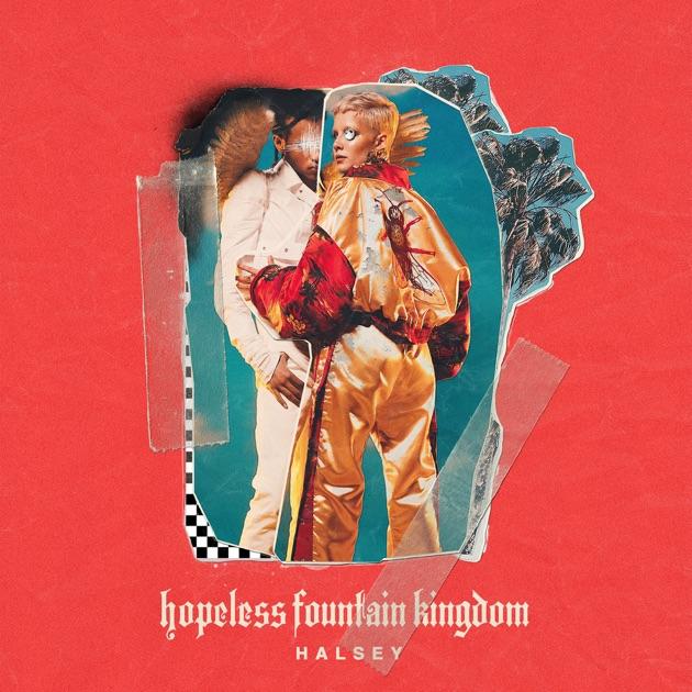 Resultado de imagem para HALSEY HOPELESS FOUNTAIN KINGDOM