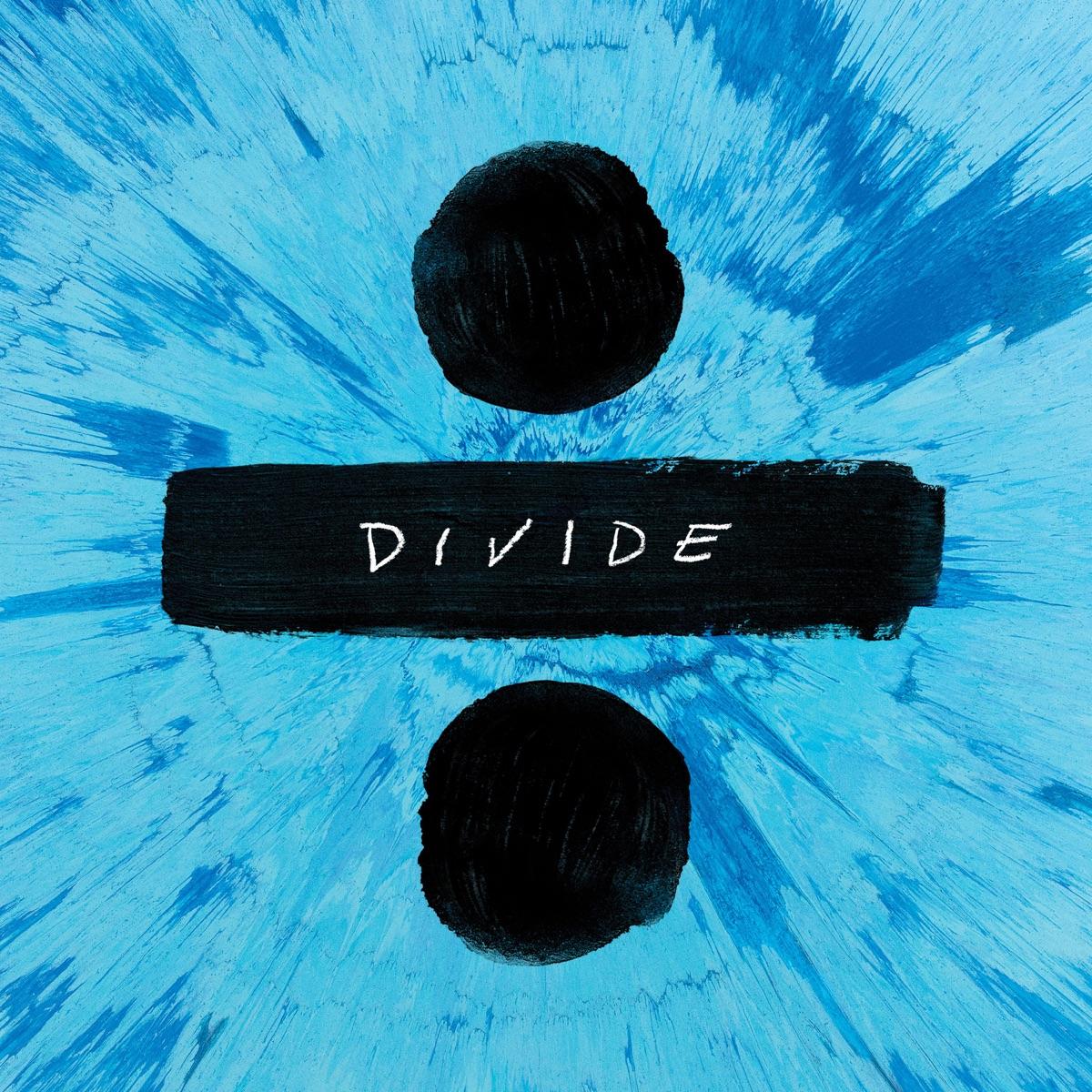 ÷ Deluxe Ed Sheeran CD cover