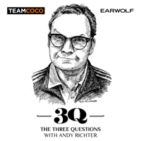 Podcast cover art for The Three Questions with Andy Richter