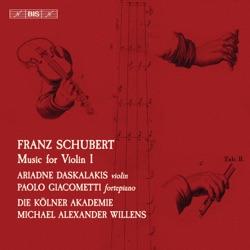Album: Schubert Music for Violin Vol 1 by Ariadne Daskalakis