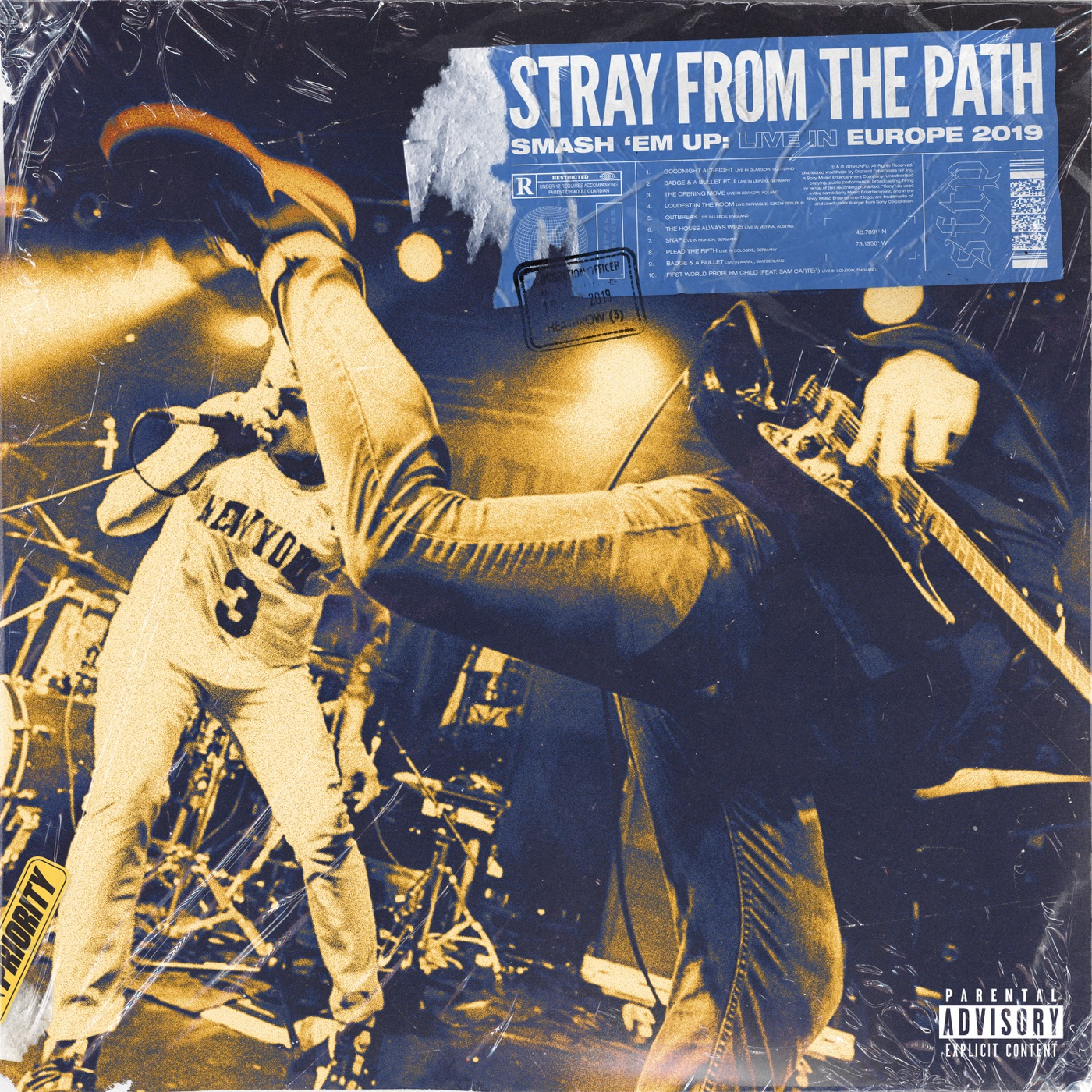 Stray From The Path - Smash 'Em Up Live in Europe (2019)