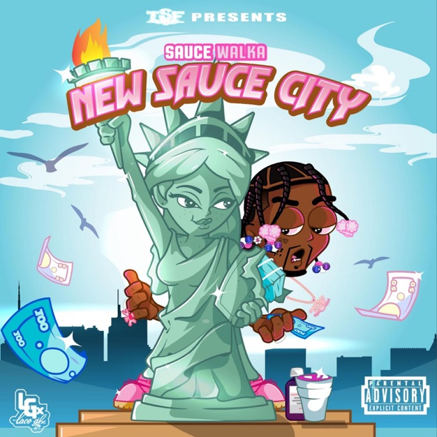 Sauce Walka – New Sauce City [iTunes Plus AAC M4A] – iTOPMUSIC