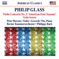 Piotr Plawner, Bern Chamber Orchestra & Philippe Bach - ヴァイオリン協奏曲第2番「アメリカの四季」: III. — artwork