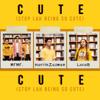 Harith Zazman, MFMF. & LOCA B - Cute (Stop Lah Being So Cute) artwork