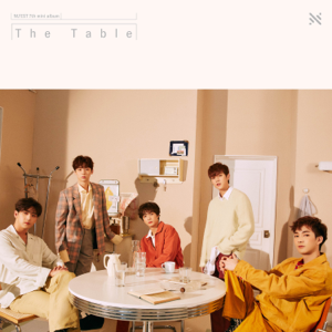 NU'EST - The Table - EP