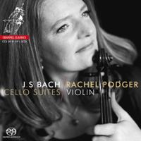Rachel Podger - J.S. Bach Cello Suites artwork