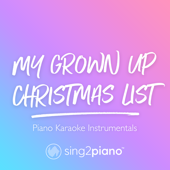 [Download] My Grown up Christmas List (Lower Key) [in the Style of Kelly Clarkson] [Piano Karaoke Version] MP3