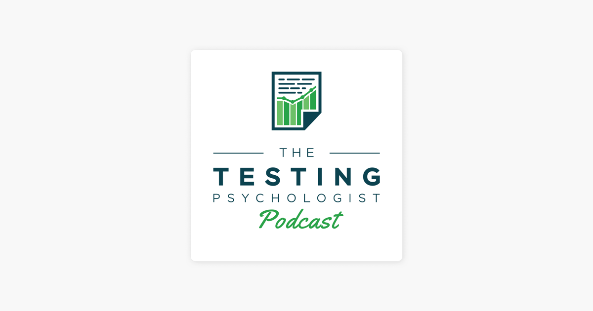The Testing Psychologist Podcast: TTP #84: Dr  Stephanie