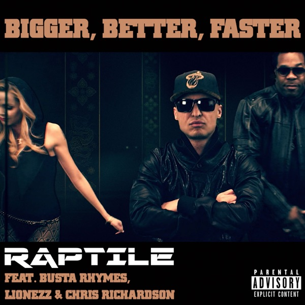 Bigger, Better, Faster (feat. Chris Richardson) - Single