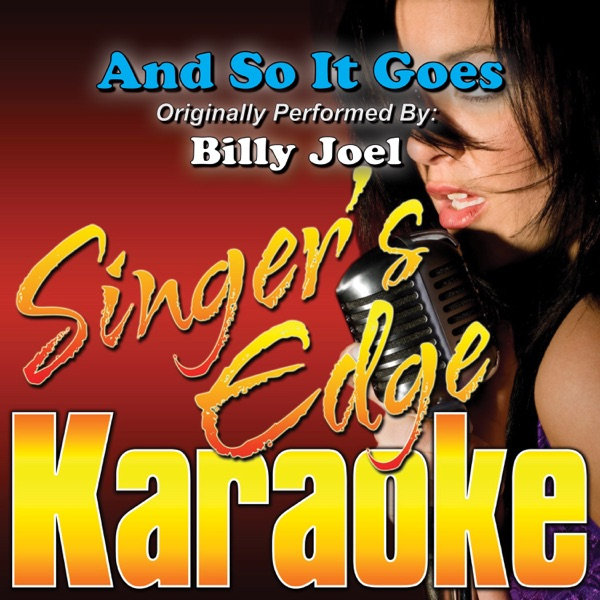And So It Goes (Originally Performed By Billy Joel) [Instrumental]
