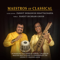 Debashish Bhattacharya & Bickram Ghosh - Maestros of Classical artwork