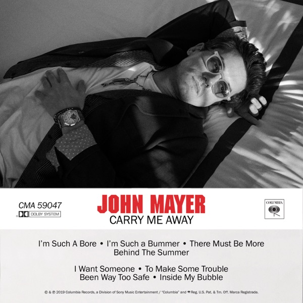 John Mayer - Carry Me Away song lyrics