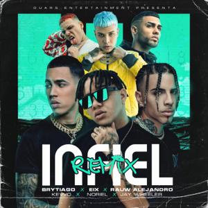 Eix, Rauw Alejandro & Noriel - Infiel feat. KEVVO, Brytiago & Jay Wheeler [Remix]