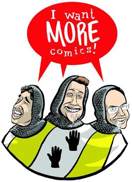I Want More Comics Podcast