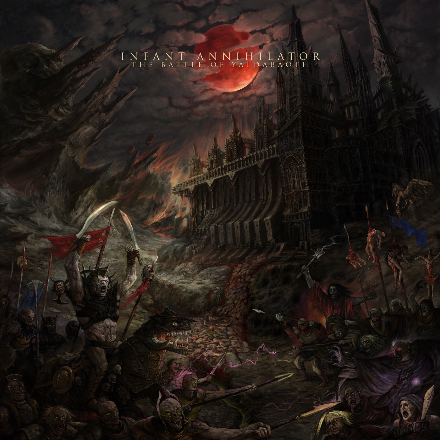 Infant Annihilator - The Battle of Yaldabaoth (2019)