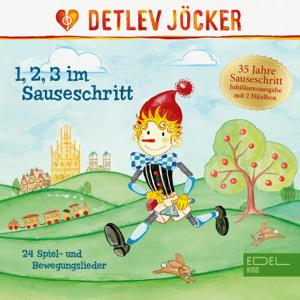 Detlev Jöcker - 1, 2, 3 im Sauseschritt (Jubiläumsedition) [24 Spiel- Und Bewegungslieder] [Remastered]